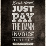 Just Pay The Invoice