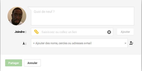 Comment poster sur Google plus une page de son site internet en 4 étapes Capture d'écran 2013 09 23 à 14.43.02
