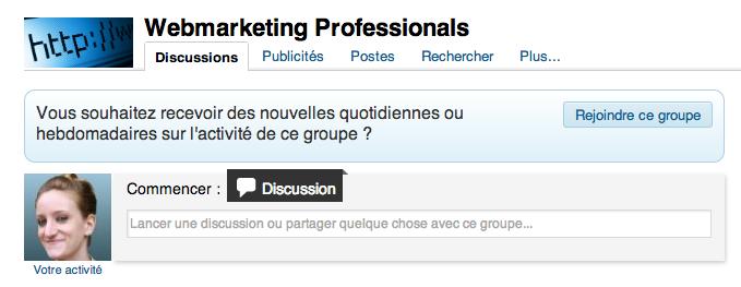 Rejoindre des groupes sur LinkedIn Capture d'écran Linked 6
