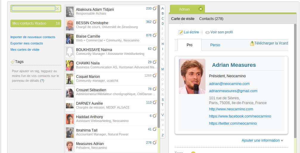 Demander à des contacts de publier un article sur Viadeo Screenshot 2013 10 24 at 17.50.35
