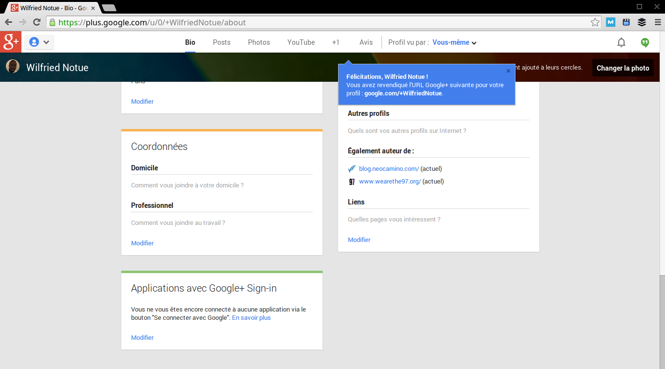 Comment personnaliser son adresse google plus ? Screenshot 2013 11 06 at 15.55.28