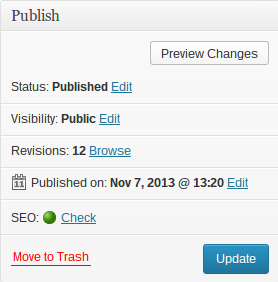 Comment écrire un article de blog sur WordPress ? SEO Check