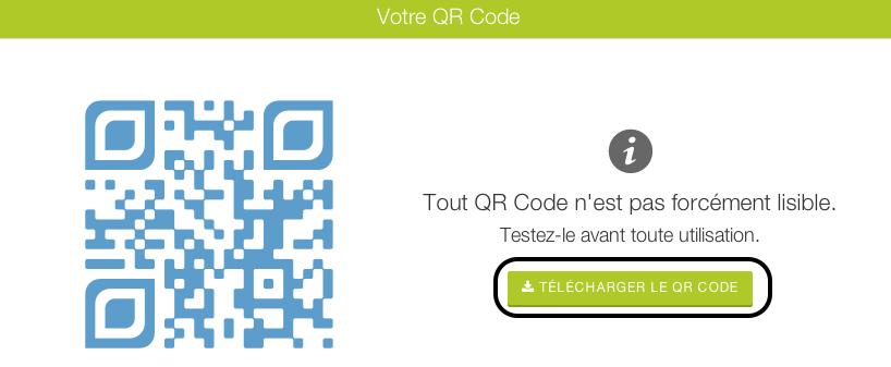 Générateur de QRcode : mode demploi Générateur de QR Code design   Gratuit   Unitag 5