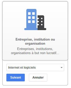 Cr er une page google plus entreprise par neocamino for Creer une entreprise innovante