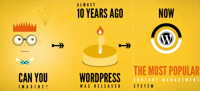8 étapes indispensables avant de faire un blog Wordpress  Infographic Winithemes FI
