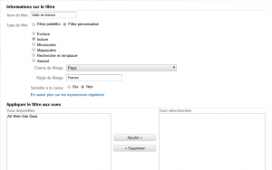 Comment utiliser google analytics pour filtrer son audience comment utiliser google analytics 6 300x188