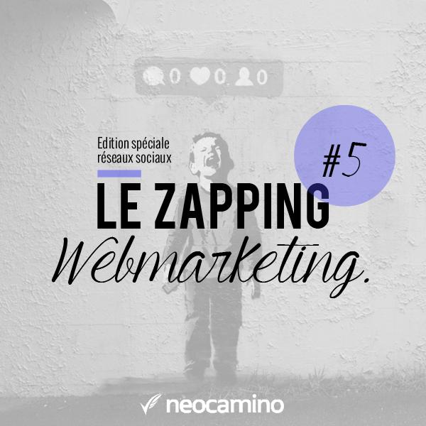 Le Zapping Webmarketing : Episode 5 neocamino zapping webmarketing 5
