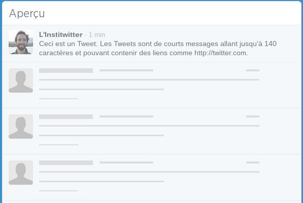 Création d'un compte Twitter en 7 étapes Twitter étape 3