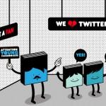 Twitter ou Facebook