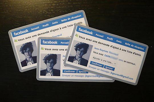 5 formats de carte de visite qui appelle à l'action ! facebook