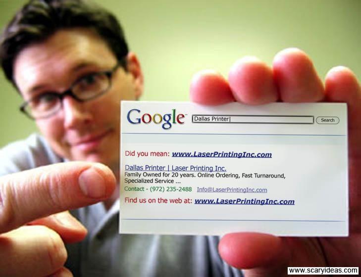 5 formats de carte de visite qui appelle à l'action ! google