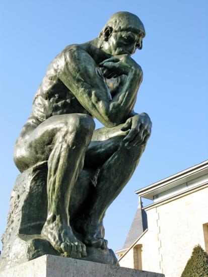 Comment trouver l'inspiration et devancer tout le monde ? 1313822 Auguste Rodin le Penseur