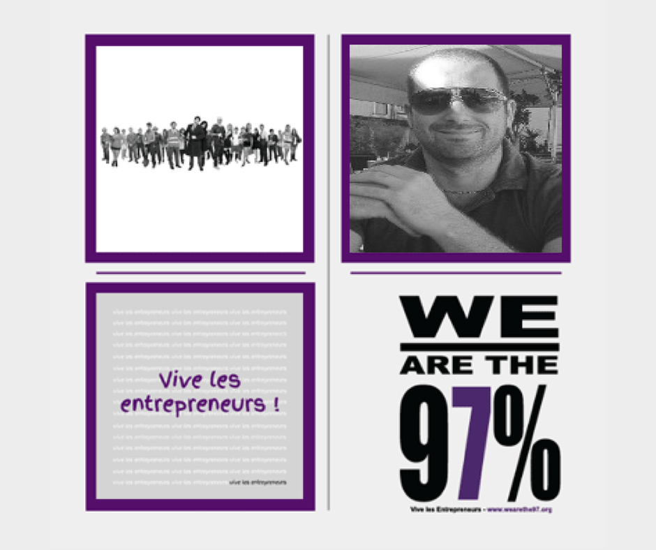 Entrepreneurs à la Une sur We Are The 97% : Acte 14 Jean André Rognone