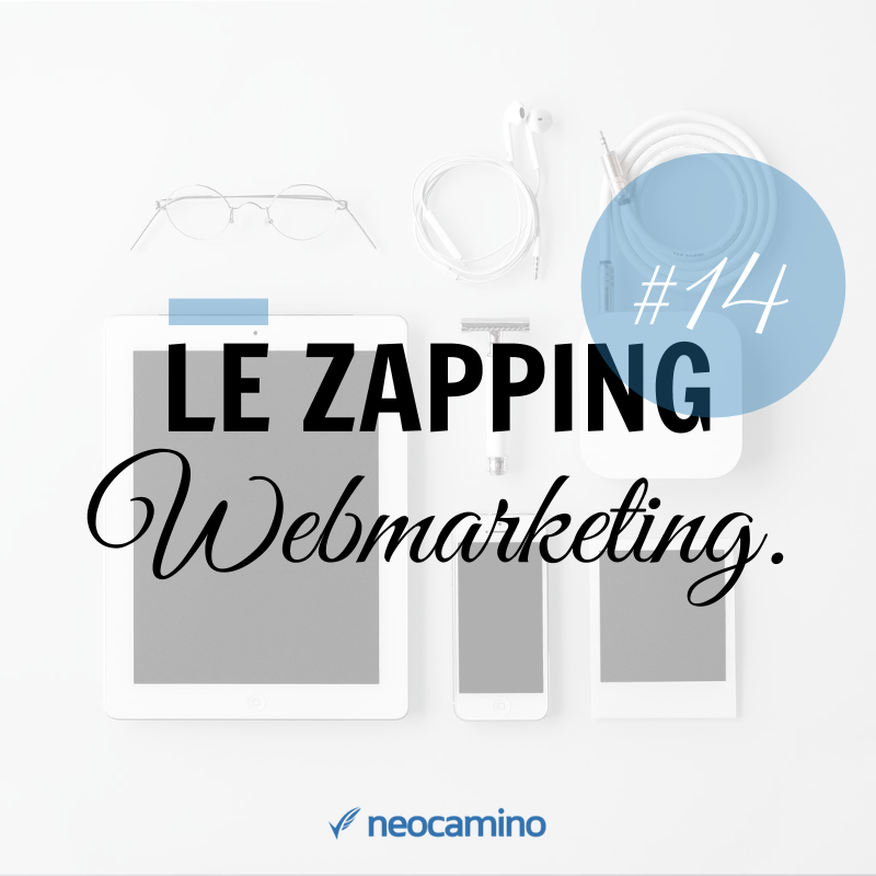 Le Zapping du Webmarketing : Episode #14 template zapping 2