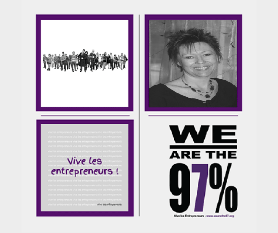 Entrepreneurs à la Une sur We Are The 97% : Acte 16 Estelle Waniowski