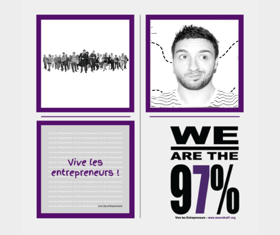 Entrepreneurs à la Une sur We Are The 97% : Acte 16 Michaël Imbert