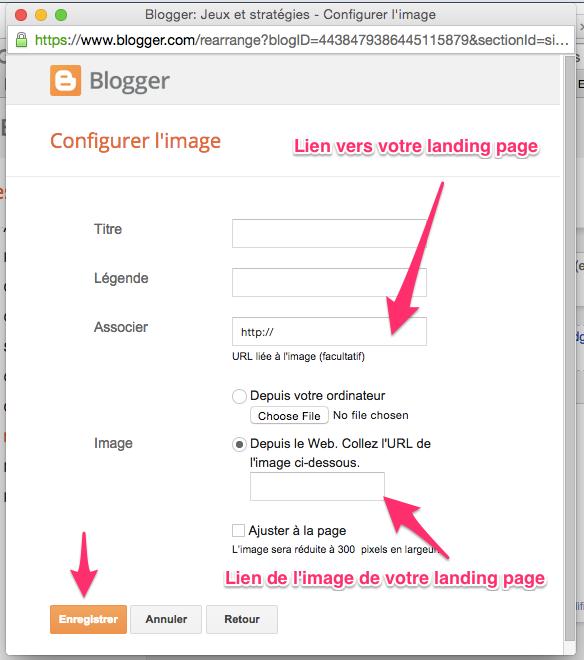 optimiser blog cree avec blogger