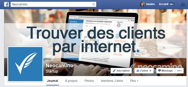 Optimiser sa page Facebook pour séduire ses prospects! facebook neocamino
