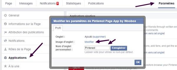 Optimiser sa page Facebook pour séduire ses prospects! onglets2