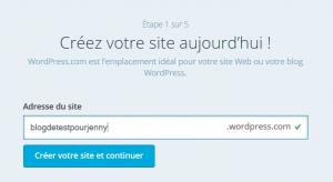 Comment créer un blog gratuit : tutoriel pas à pas pour réussir ! wordpress 2 300x164