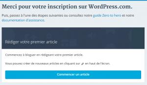 Comment créer un blog gratuit : tutoriel pas à pas pour réussir ! wordpress 7 300x174