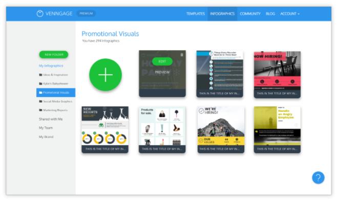 4 outils pour créer une infographie en ligne creer une infographie avec venngage