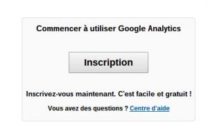 compte google analytics
