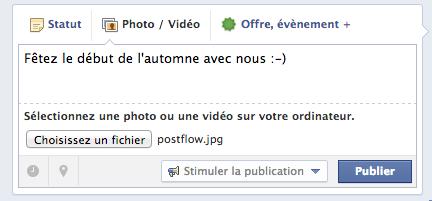 Publier une photo sur sa page Facebook Capture d'écran 4