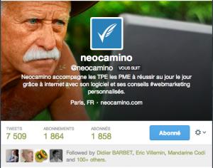 Suivre un compte Twitter