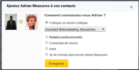 Ajouter Un Contact Viadeo En 2 Etapes