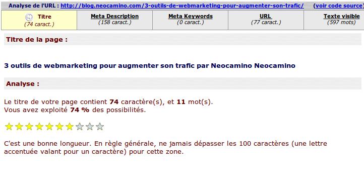 3 outils en ligne pour faire son audit seo Screenshot 2014 01 23 at 12 modif