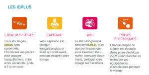Exemple de mailing impactant : SNCF iDBUS IDBUS Les infos complémentaires 2 300x151