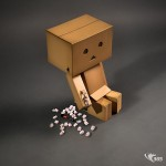 Careful with that Box Cutter Danbo! 40/365