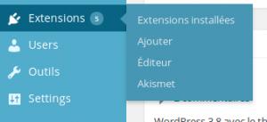 Installer un plugin wordpress en seulement quelques clics !  Wordpress Etape A 300x137