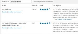 Installer un plugin wordpress en seulement quelques clics !  Wordpress Etape C 300x134