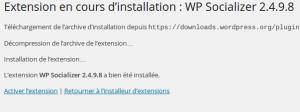 Installer un plugin wordpress en seulement quelques clics !  Wordpress Etape D 300x112