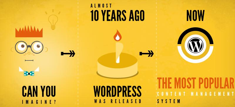 8 étapes indispensables avant de faire un blog Wordpress  Infographic Winithemes FI