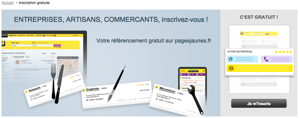 3 Minutes Pour Une Inscription Pagesjaunes Pour Votre Pme Bien Sur
