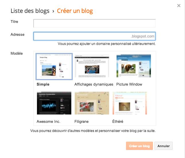 Comment créer un blog avec Blogger et lacher sa plume ? Capture d'écran 2014 06 18 à 12.16.51