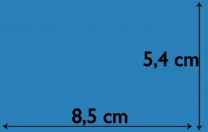 Dimensions carte de visite2