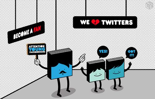 Twitter ou Facebook : les avantages et inconvénients pour choisir Twitter ou Facebook