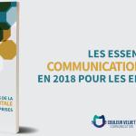 Les essentiels de la communication digitale en 2018