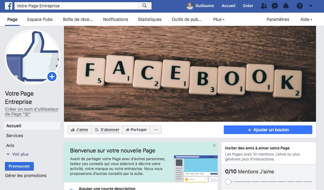 Creer Une Page Facebook Pour Votre Entreprise