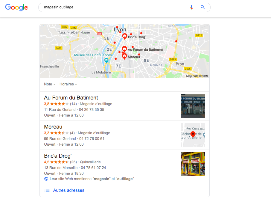 referencement local google my business